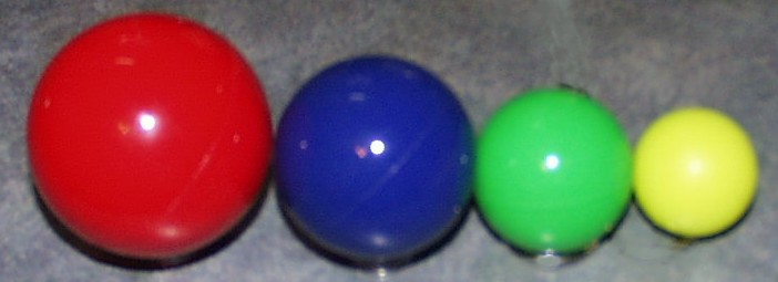 ALL SUPER BALLS ARE MADE FROM FDA APPROVEDMATERIALS